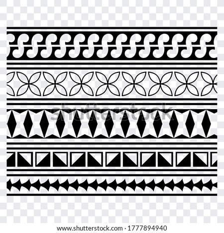 Tattoo arm band,Tattoo hand band, Maori Tribal Tattoo, Polynesian Tattoo Design, Polynesian Band Tattoo
