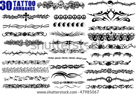 tattoo bands. Arm Band Tattoo New Style