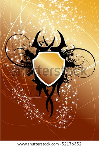 stock vector : Tattoo background