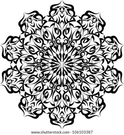 tattoo circular design