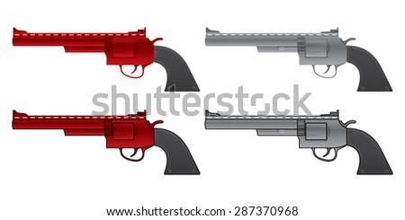 tattoo design gun vector