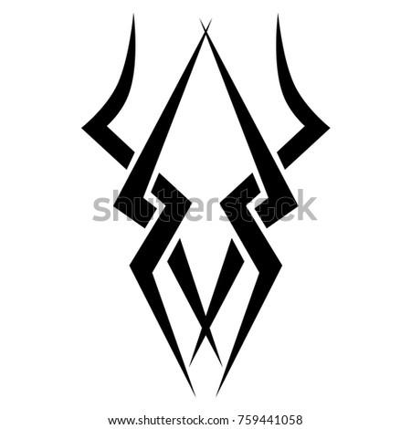 Tattoo designs. Tattoo tribal vector designs. Art tribal tattoo. Tattoos ideas. Creative tattoo ornament vector.Vector illustration.