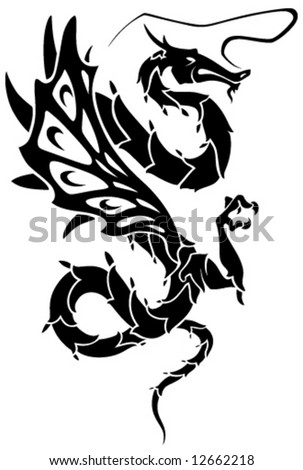 tattoos dragon. Tattoos Dragon-Dragon
