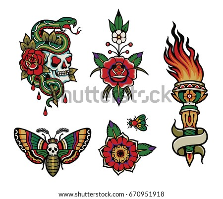 tattoo flash pack 1