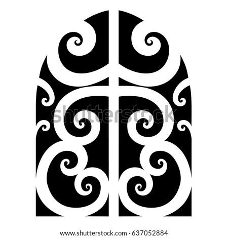 Tattoo maori vector designs.Tribal tattoos. Art tribal tattoo. Vector sketch of a tattoo. Idea for design. Tattoo tribal vector.