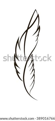 tattoo pen isolated