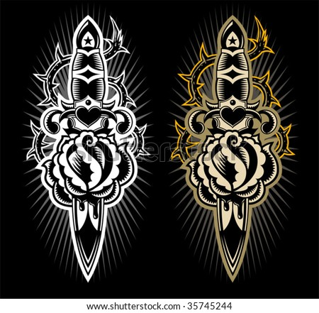 tattoo style design