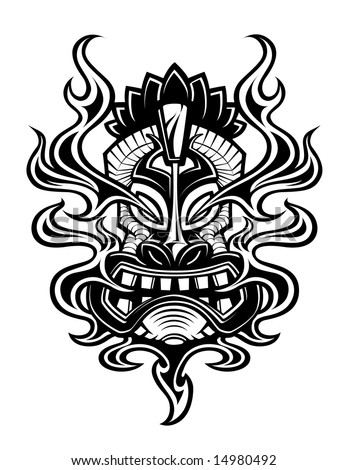 tiki tattoos. 59k: Surfer Tattoo