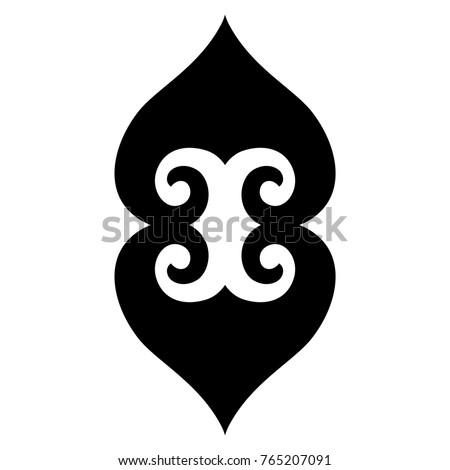 Tattoo tribal maori vector designs.