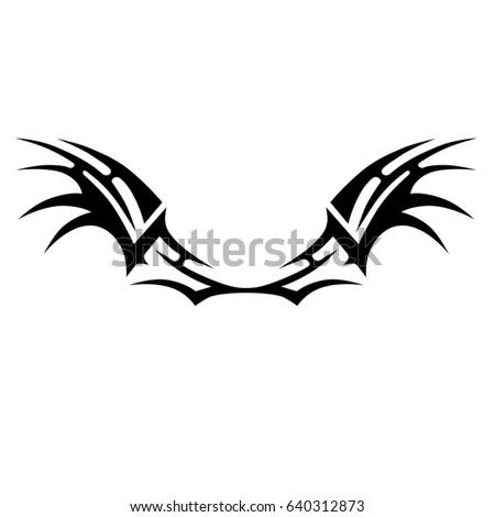 Tattoo tribal vector designs.