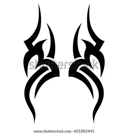 vol 1 tattoo tribal designs download free vector art free vectors. Black Bedroom Furniture Sets. Home Design Ideas
