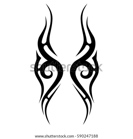 Tattoo tribal vector designs. Tribal tattoos. Art tribal tattoo.