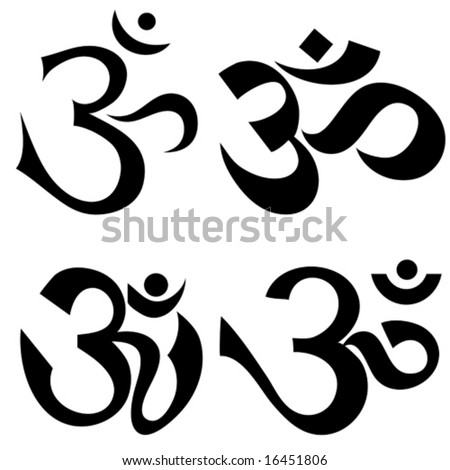 Om & Om mani padme hum tattoos, by nexus6zora