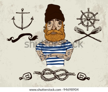 tattooed sailor