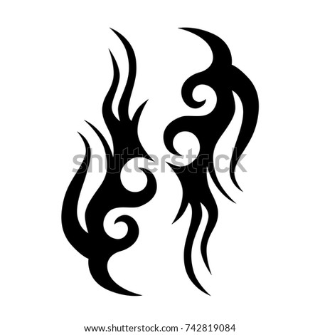 tattoos ideas designs – tribal tattoo pattern vector illustration