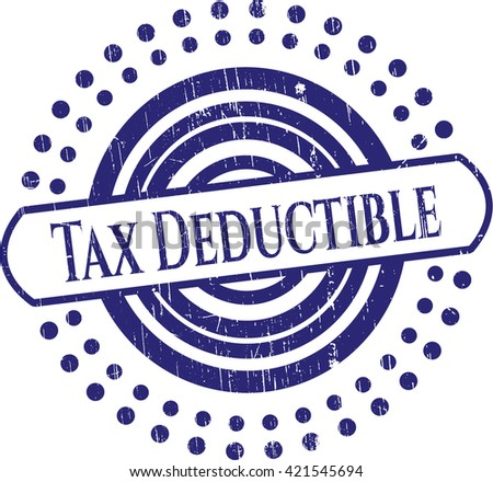 Tax Deductible rubber seal