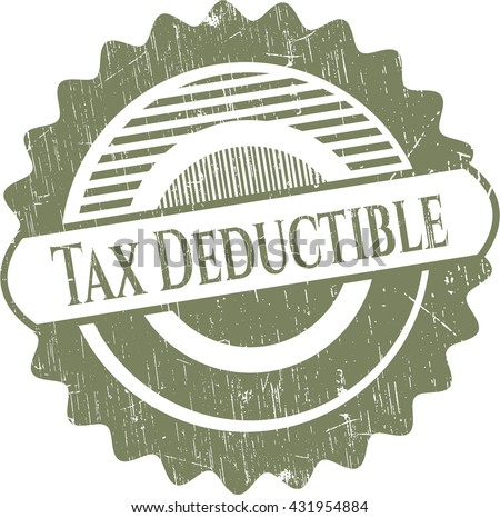 Tax Deductible rubber texture