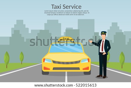 taxi driver call with