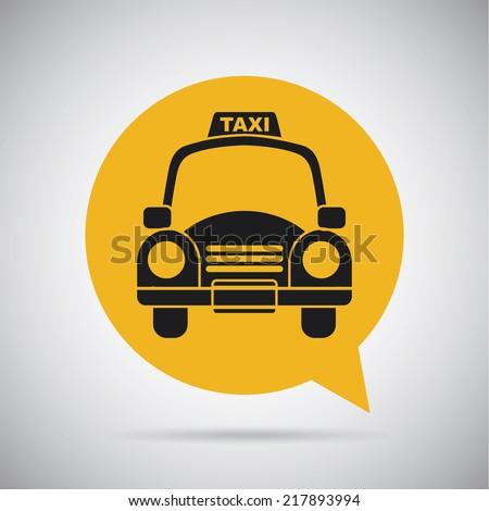taxi icon design , vector illustration