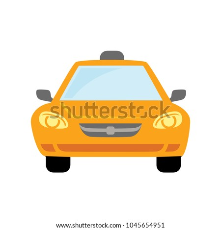 Taxi Icon, taxi icon vector, taxi. vector illustration.