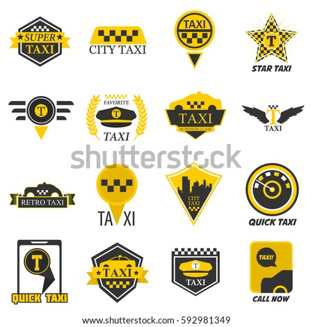 taxi logo templates for company