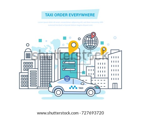taxi order everywhere online