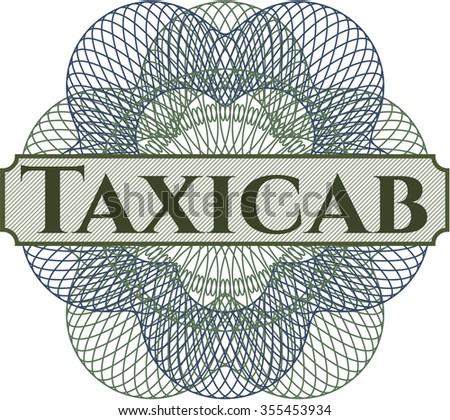 Taxicab rosette