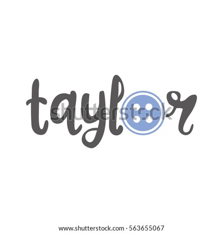 taylor vector logo design