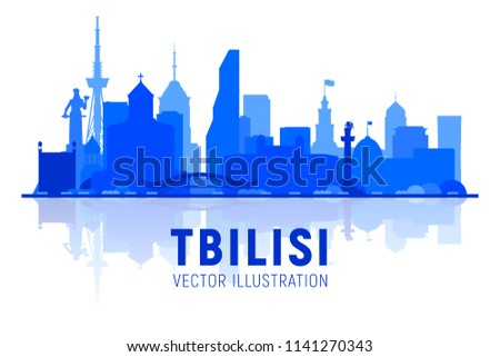 tbilisi  georgia  skyline