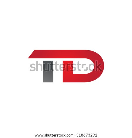TD company group linked letter logo