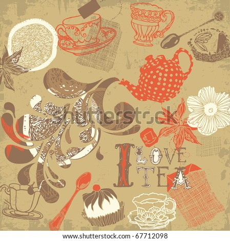 tea background