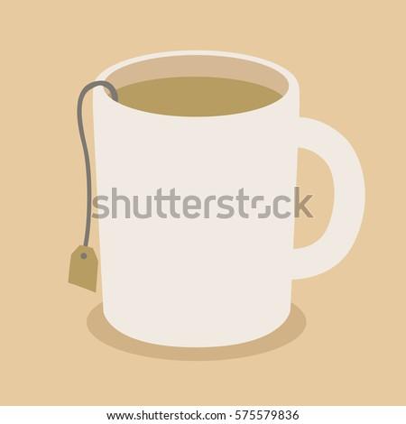 tea cup icon vector illustration