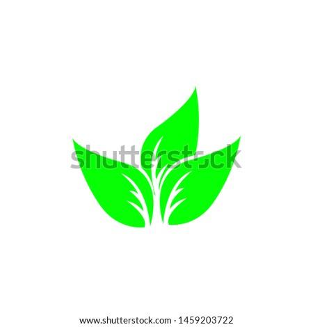 Tea leaf vector symbol. Leaf symbol symbol icon #1459203722