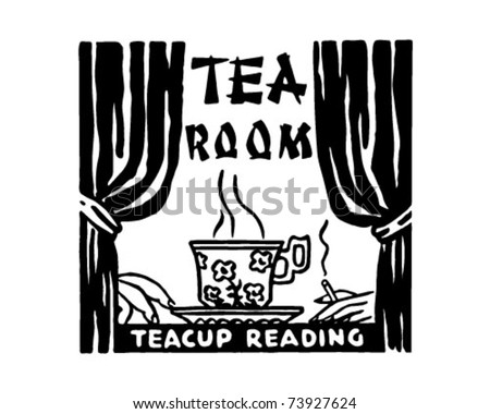 Tea Room 2 - Retro Ad Art Banner