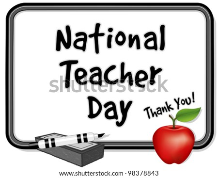 teacher day whiteboard