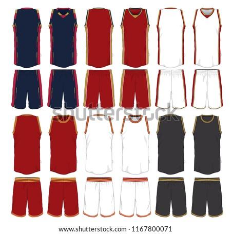 Team Basketball Jersey Template