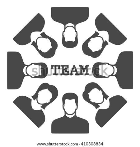 team Icon Vector.