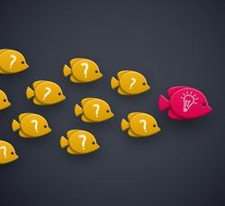 Team leader, idea concept, eps 10