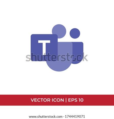 team logo concept  vector