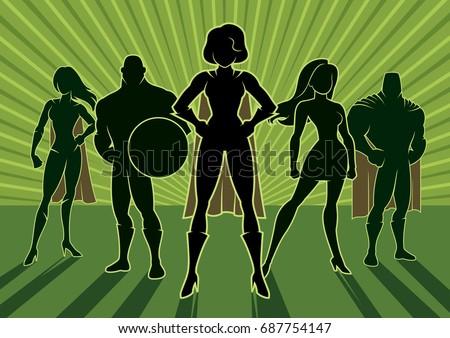 team of superheroes