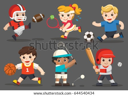 team sports for kids including