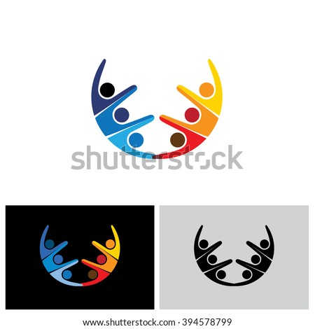 Royalty Free Stock Photos And Images Team Teamwork Excited