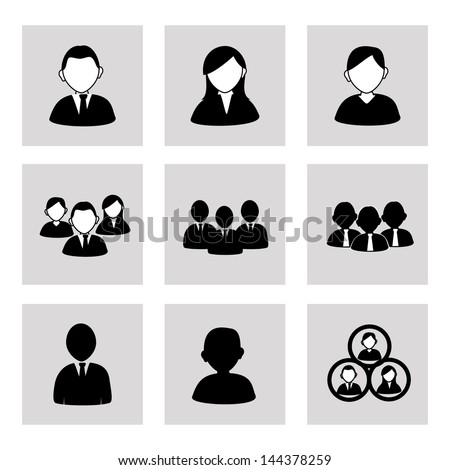 team work over gray background vector illustration