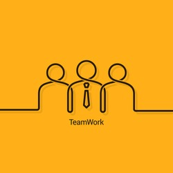 teamwork business concept design background