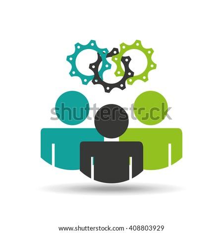 teamwork concept design