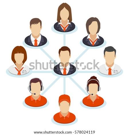teamwork flow chart corporate