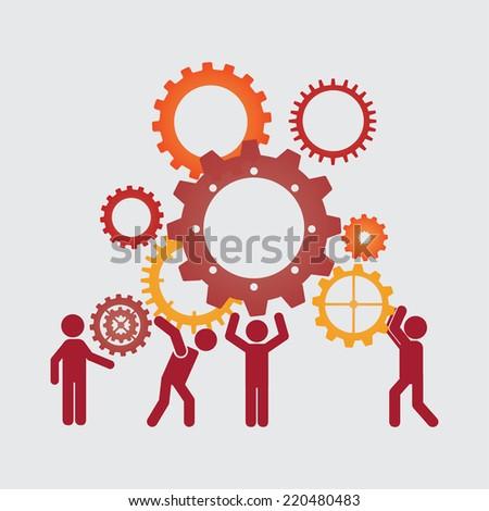 teamwork graphic design