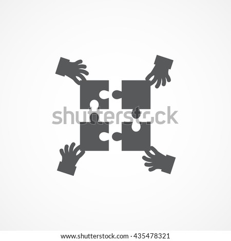 teamwork icon object picture drawing image graphic art jpg eps