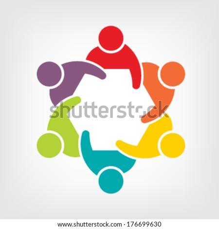 teamwork logo meeting 6 group