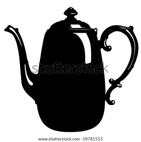Teapot vector illustration - stock vector
